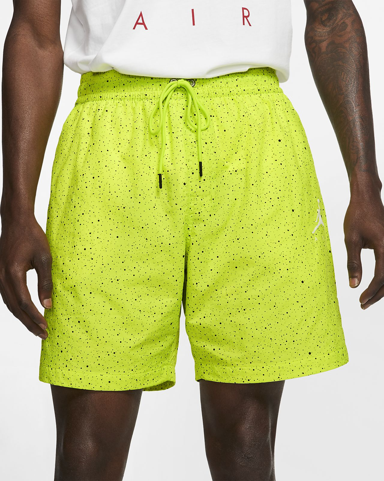 0c069454d749b3 Jordan Jumpman Cement Poolside Men s 18cm approx. Shorts. Nike.com LU