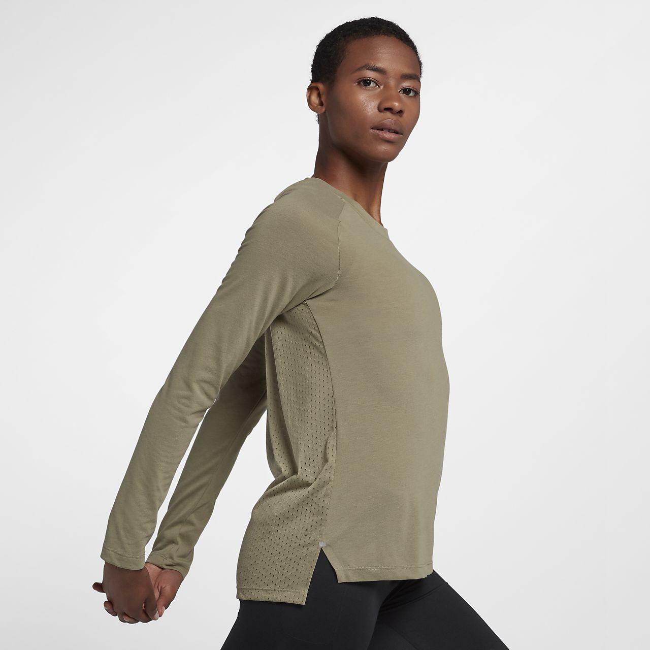 d29ebedfe6e15 Nike Tailwind Women s Long Sleeve Running Top. Nike.com