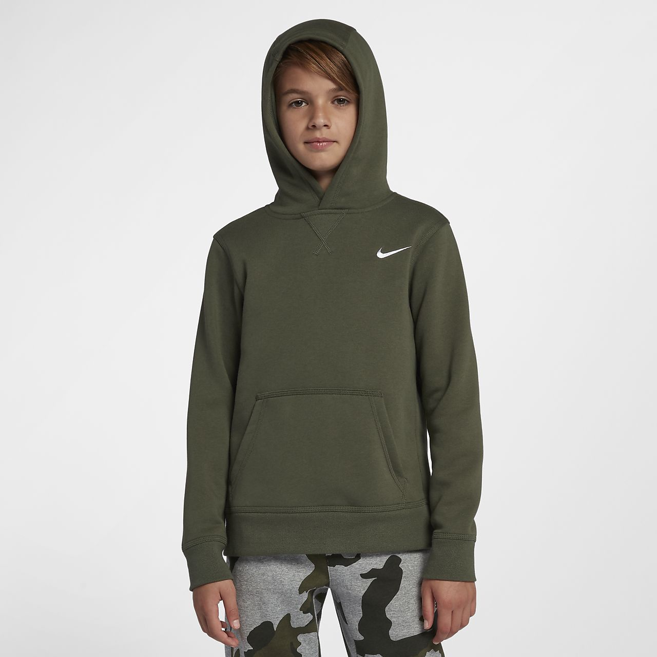 Sweat à capuche de training Nike pour Enfant