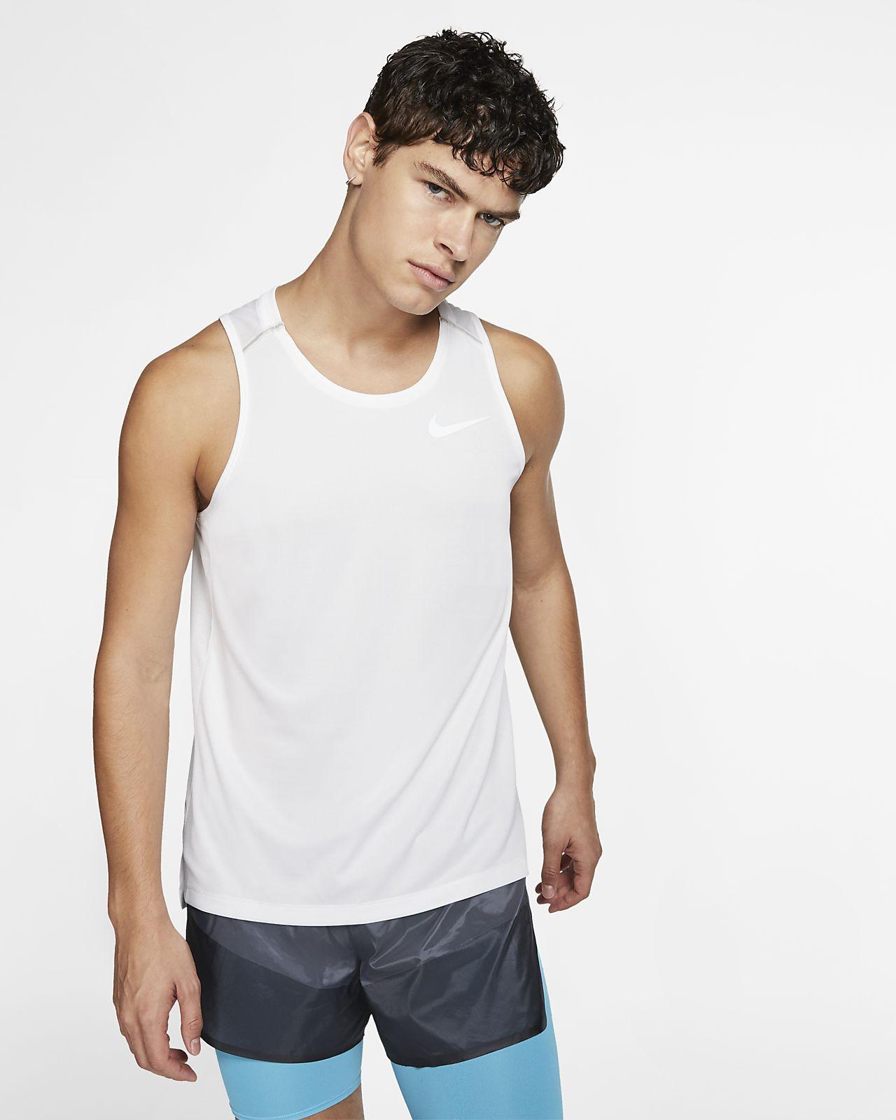 Haut de running sans manches Nike Dri-FIT Miler pour Homme
