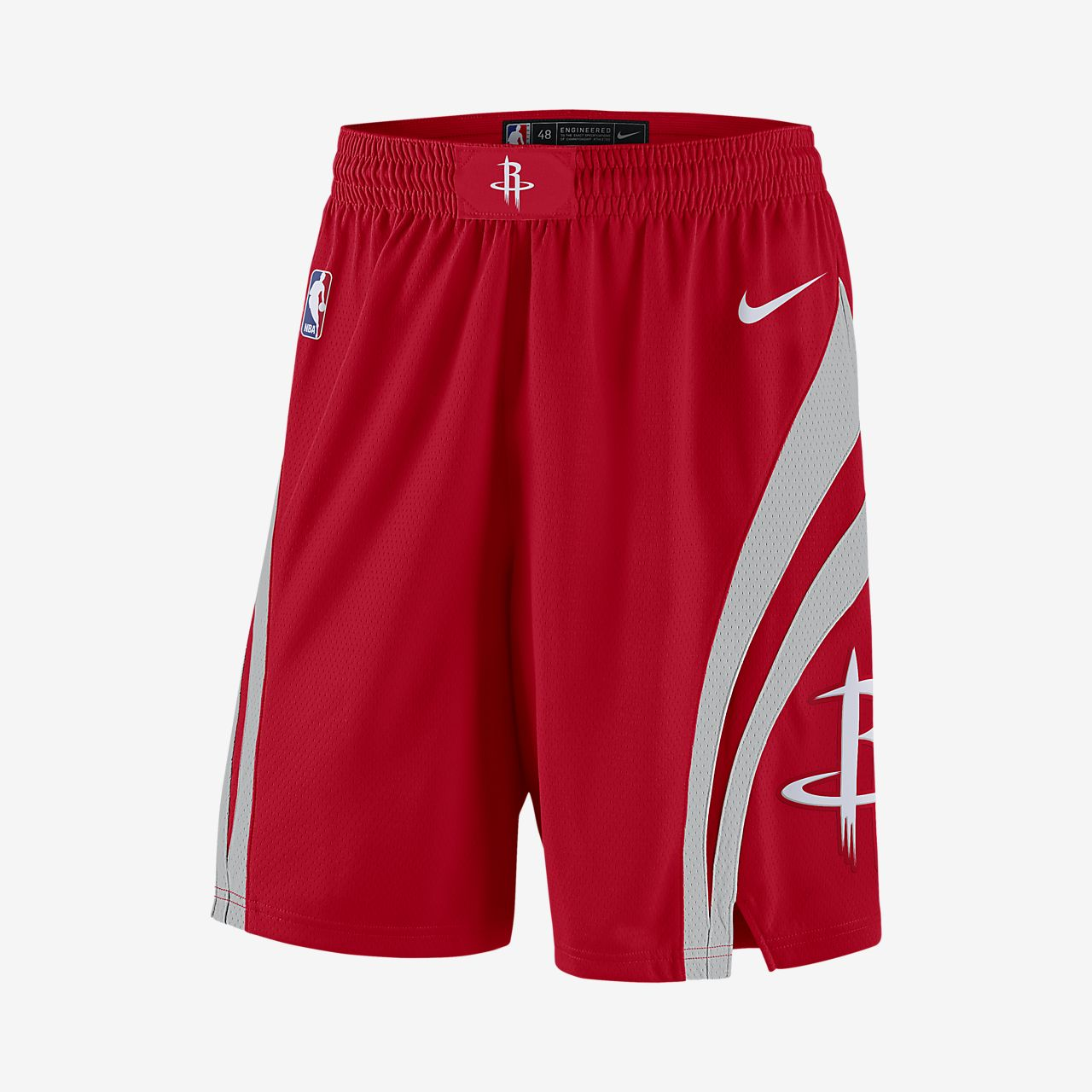 Short de NBA Houston Rockets Nike Icon Edition Swingman pour Homme