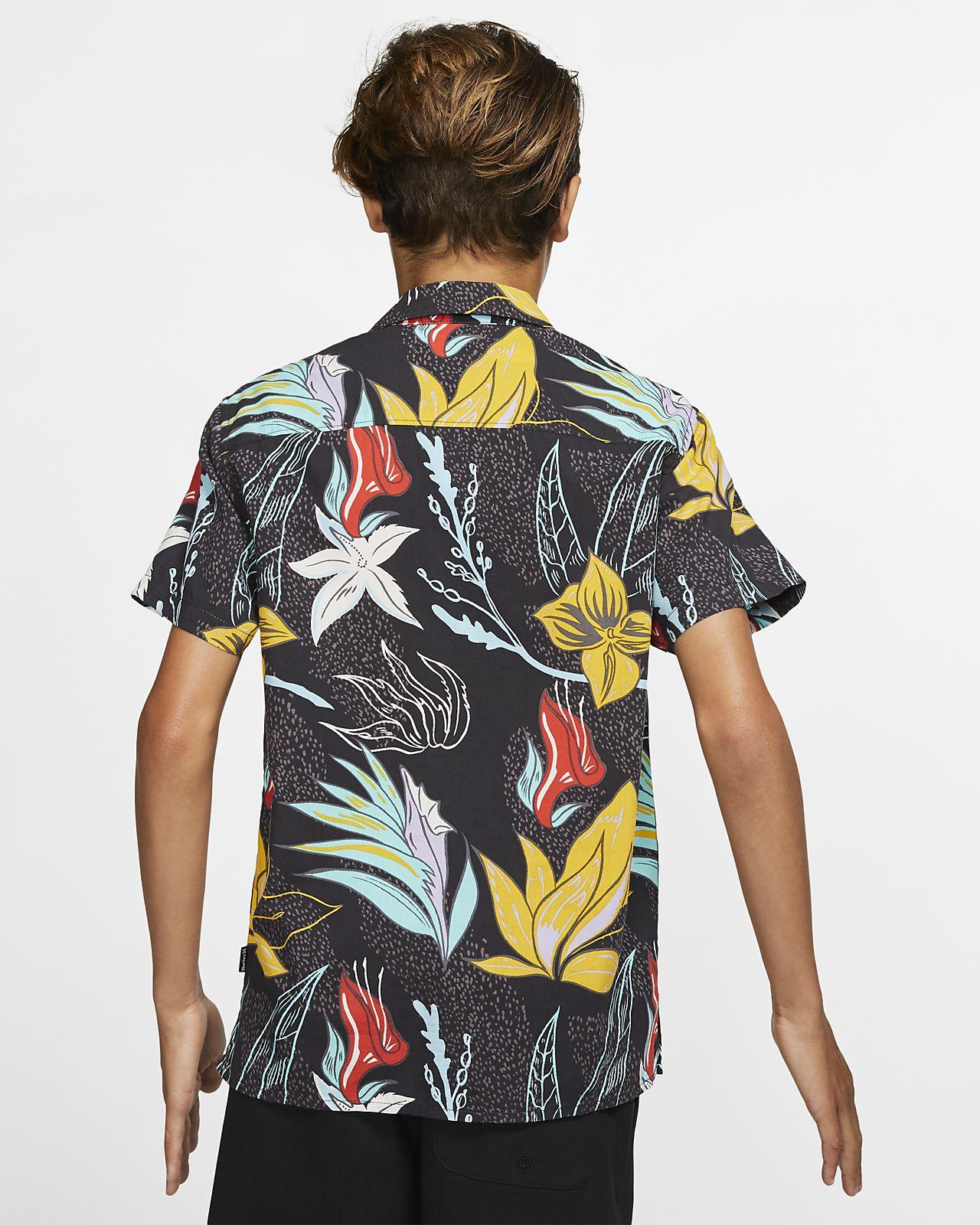 Hurley Domino Boys' Short-Sleeve Shirt