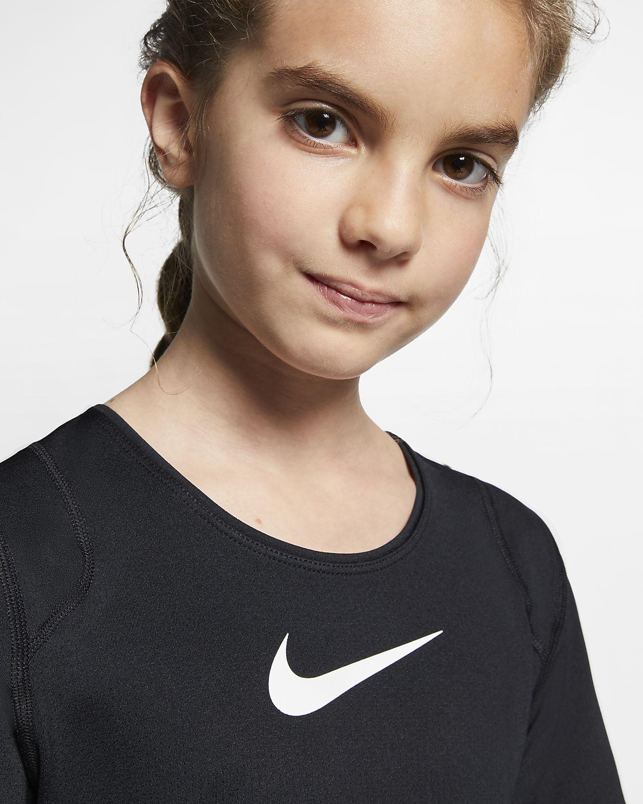 Kortärmad tröja Pro för ungdom (tjejer)