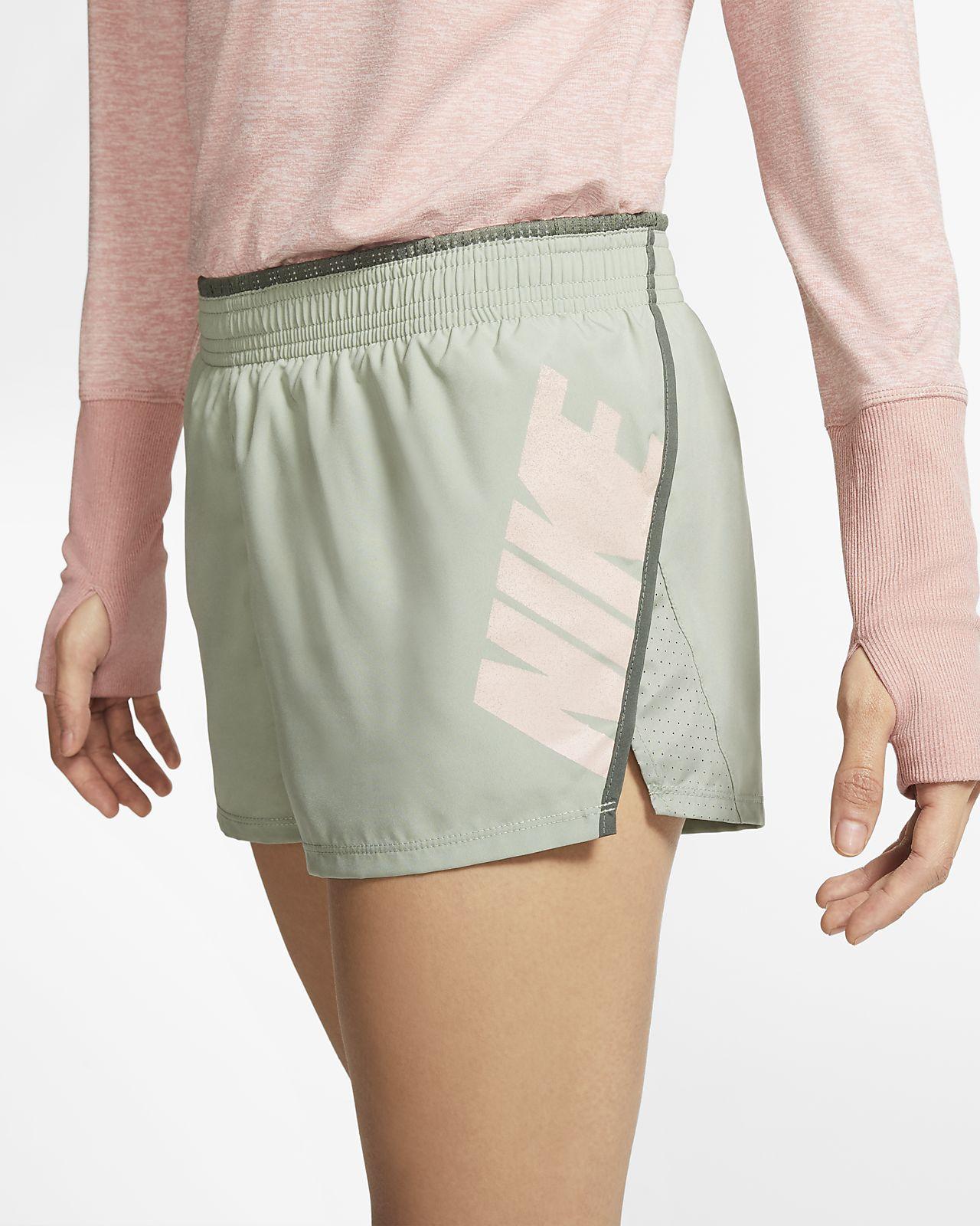 Nike 10K 女款圖樣跑步短褲