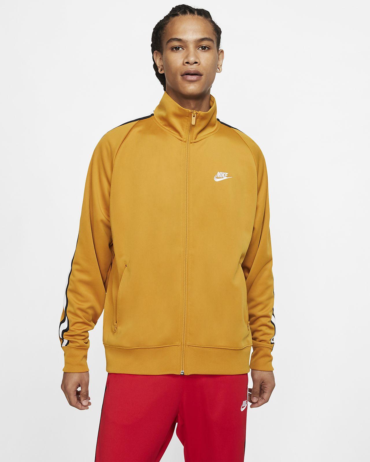 Мужская трикотажная куртка для разминки Nike Sportswear N98