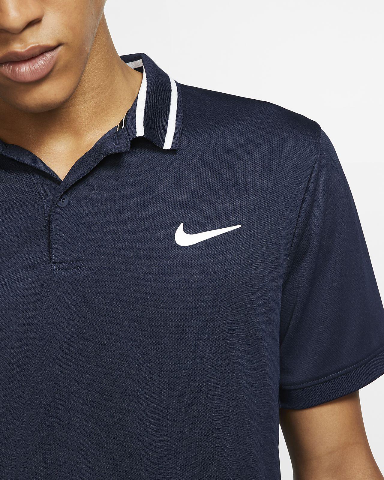 NikeCourt Dri FIT Tennis Poloshirt für Herren