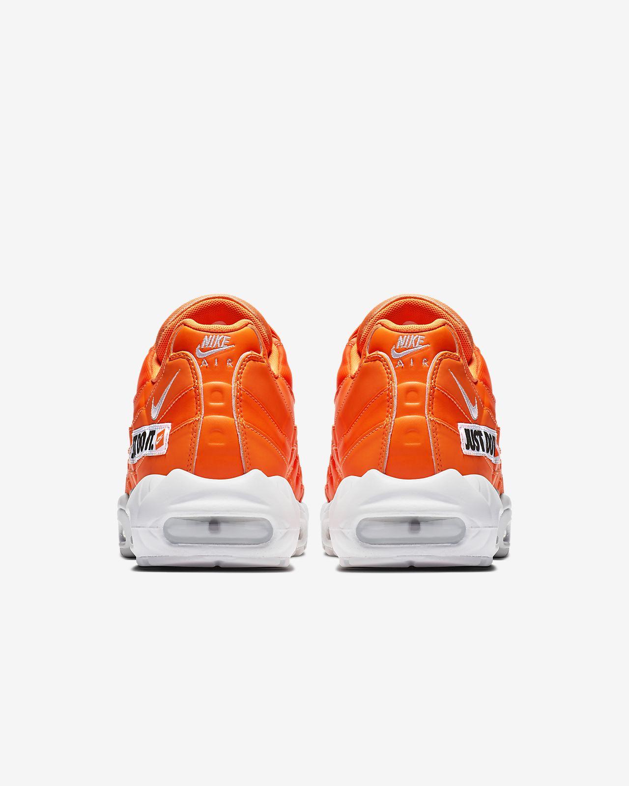 scarpa nike air max 95 se total orangenerobianco av6246 800