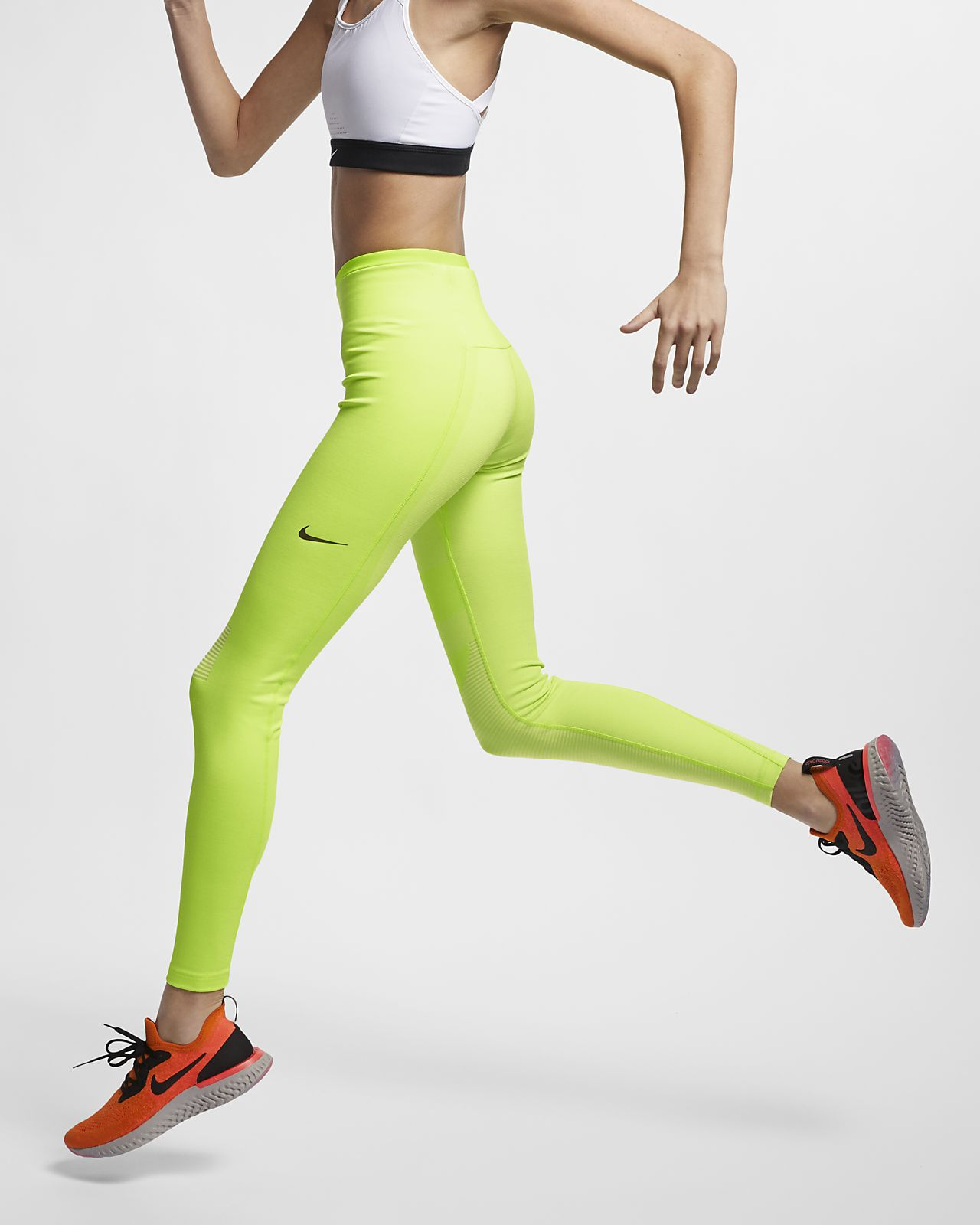 Damskie legginsy do biegania Nike Tech