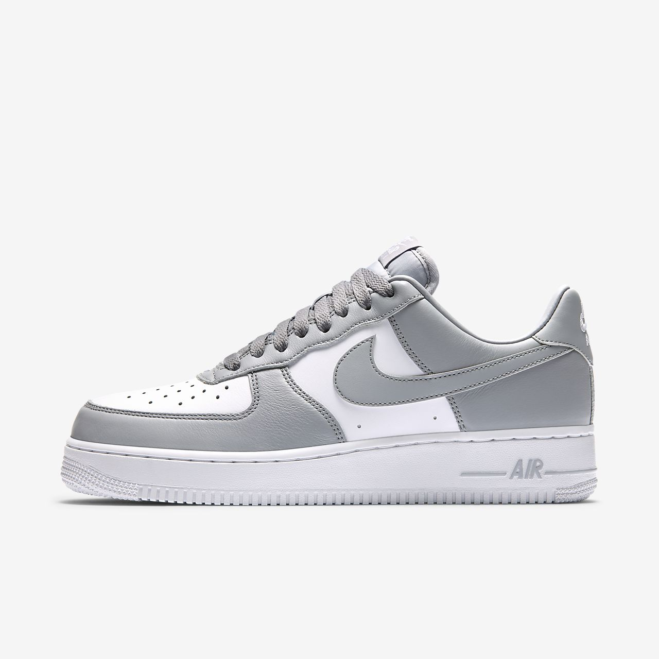 all white nike air force 1 low men's nz
