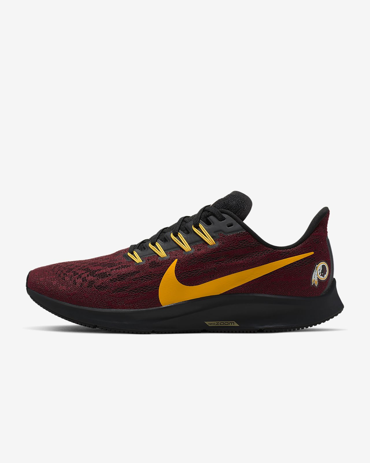 Nike Air Zoom Pegasus 36 (Redskins) Men's Running Shoe