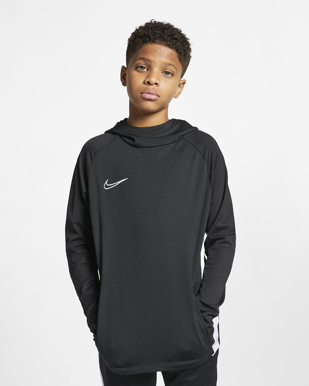 Sweat à capuche de football Nike Dri-FIT Academy pour Enfant plus âgé