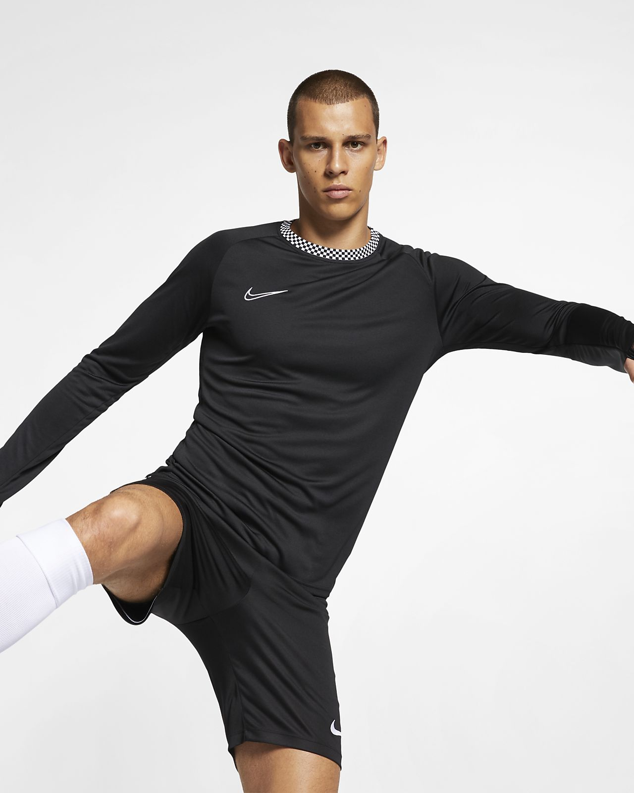 Nike Dri-FIT Academy Men's Long-Sleeve Football Top