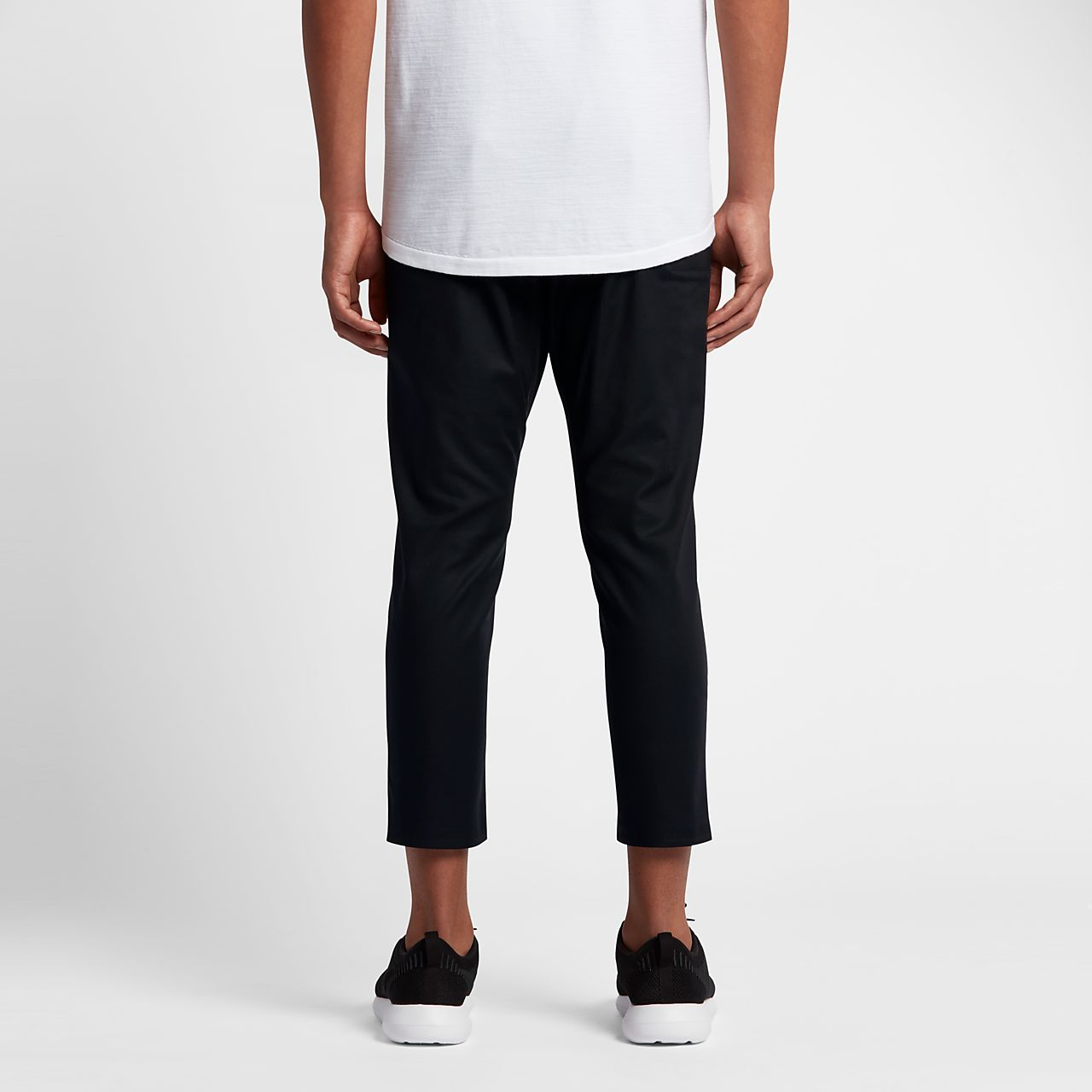 Nike Bonded Woven SchwarzSchwarz  Hosen