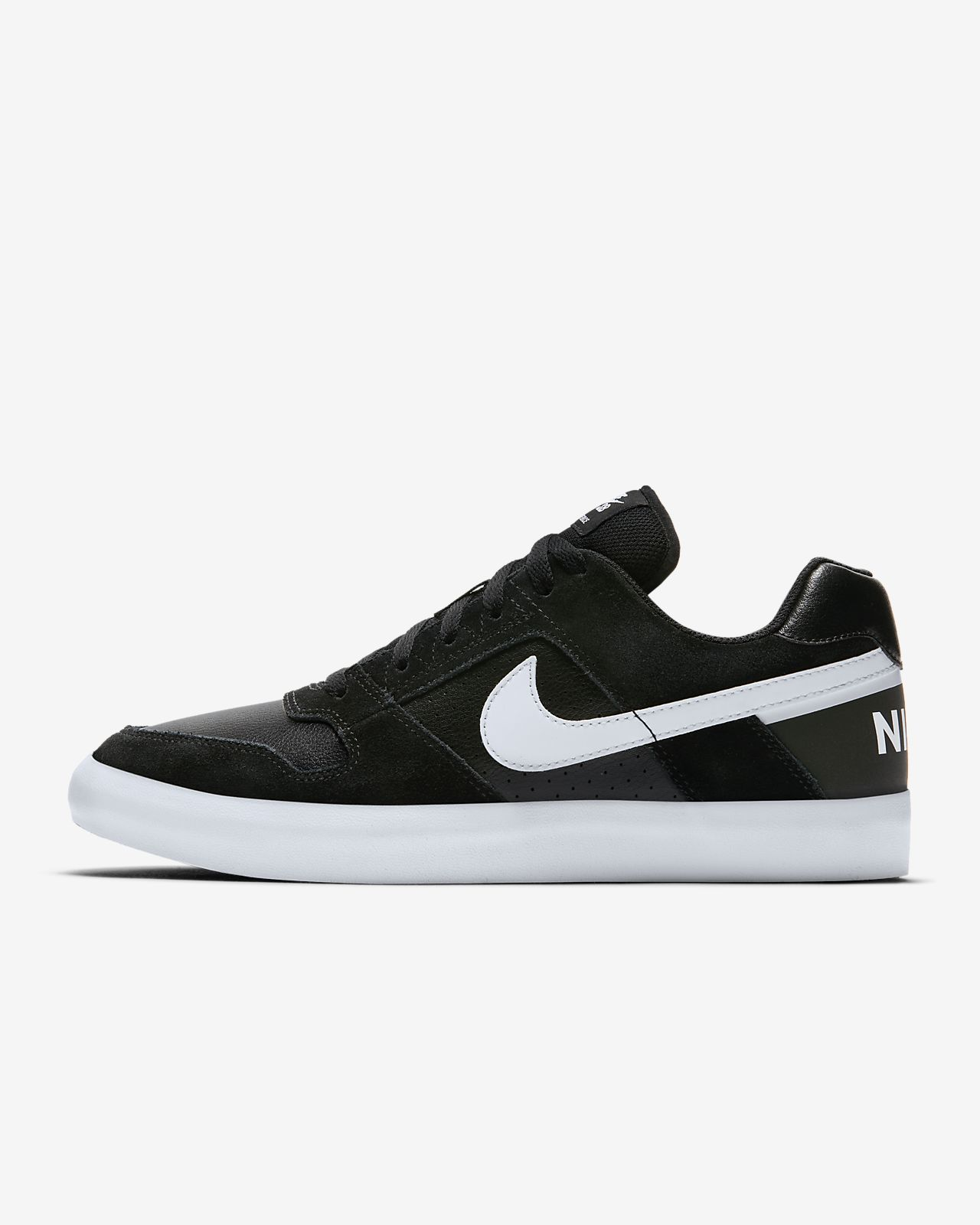 Buy Nike BlackWhite SB Delta Force Vulc Skateboarding Shoes