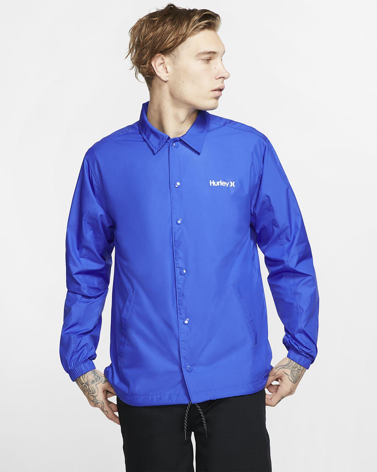 Hurley Siege Coaches Men's Jacket