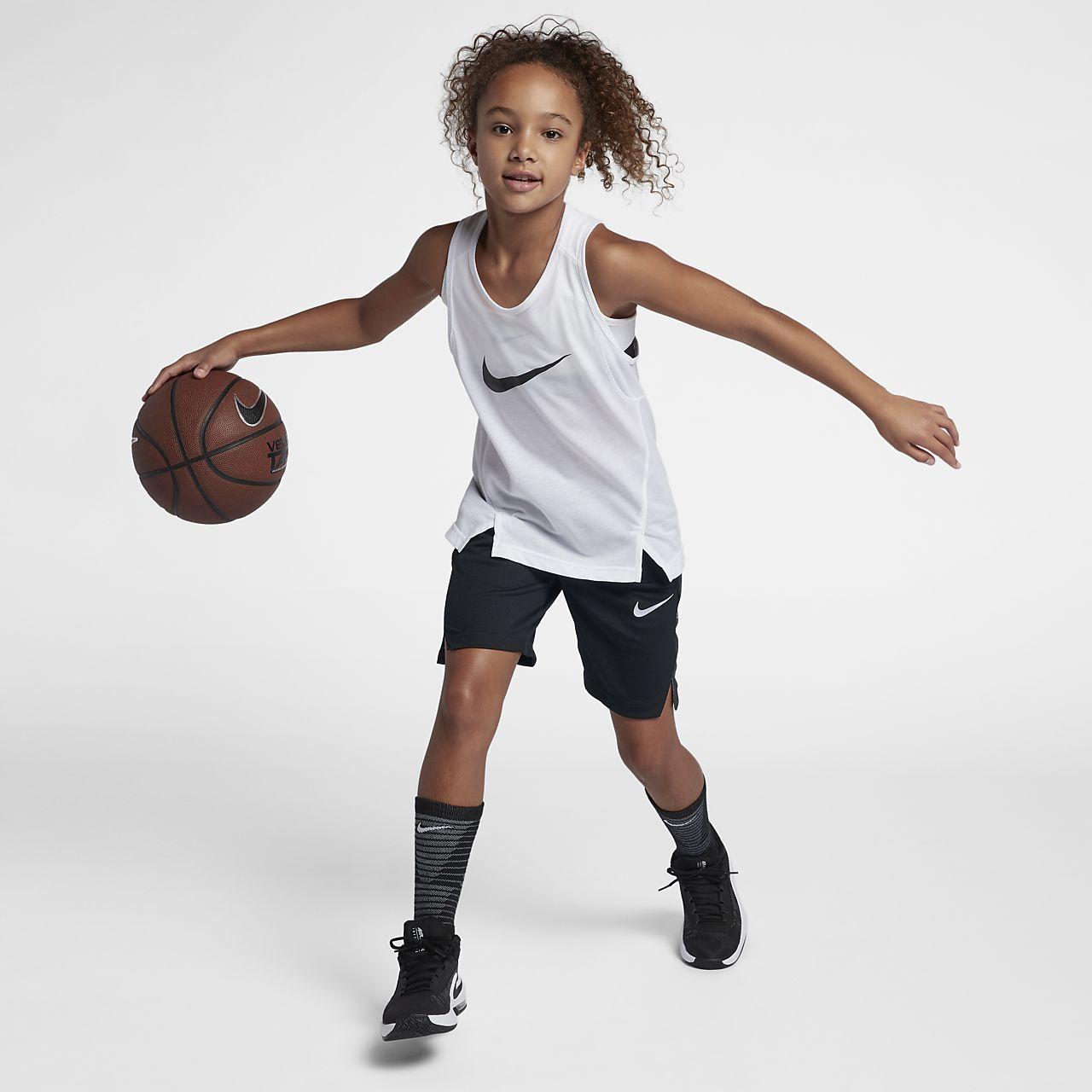04669db379 Nike Dri-FIT Elite Big Kids' (Girls') Basketball Shorts. Nike.com