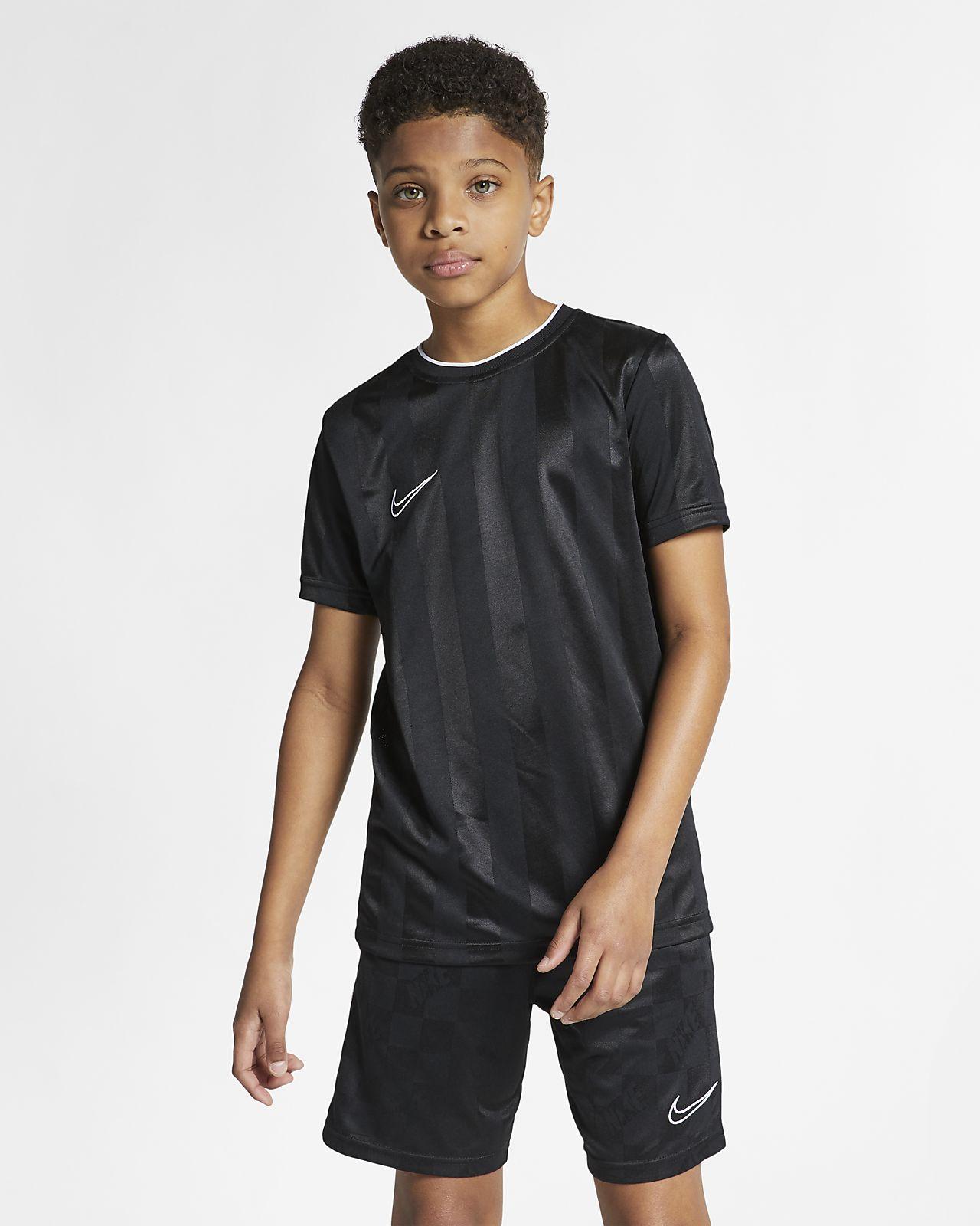 Haut de football à manches courtes Nike Breathe Academy pour Enfant plus âgé