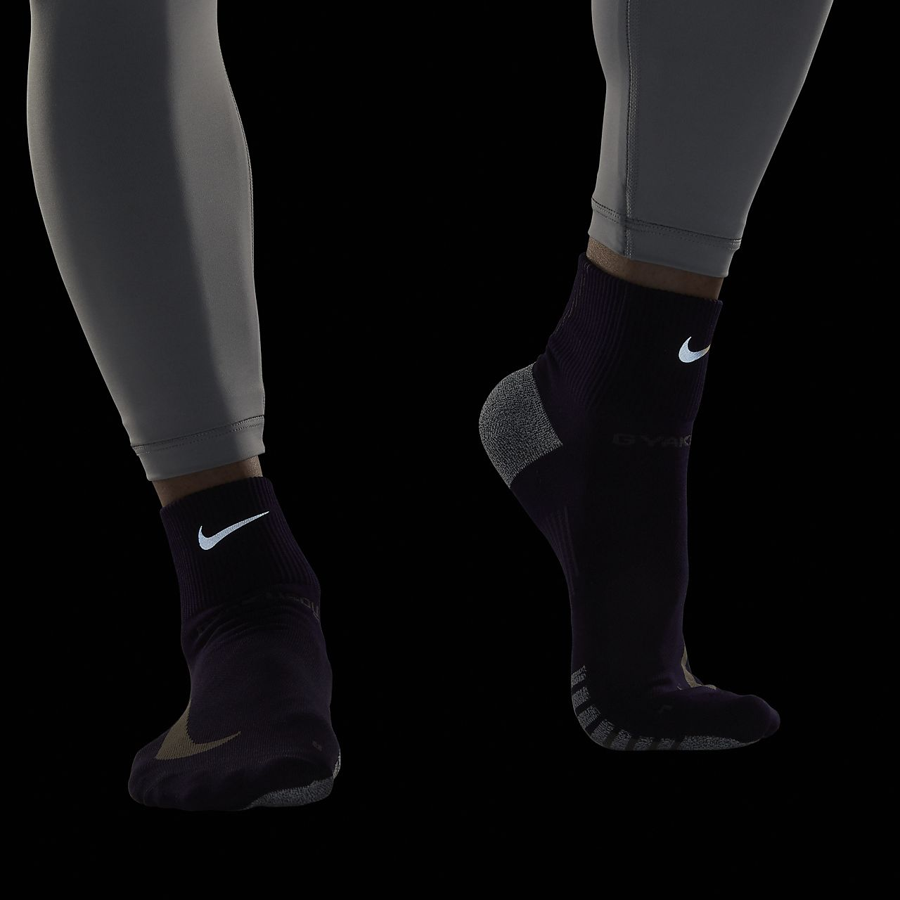 best sneakers 5639e 9cead ... Nike Gyakusou NikeGrip Unisex Quarter Sock