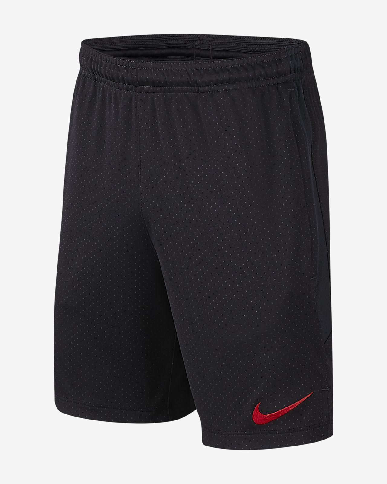Shorts de fútbol para niño talla grande Nike Dri-FIT Paris Saint-Germain Strike