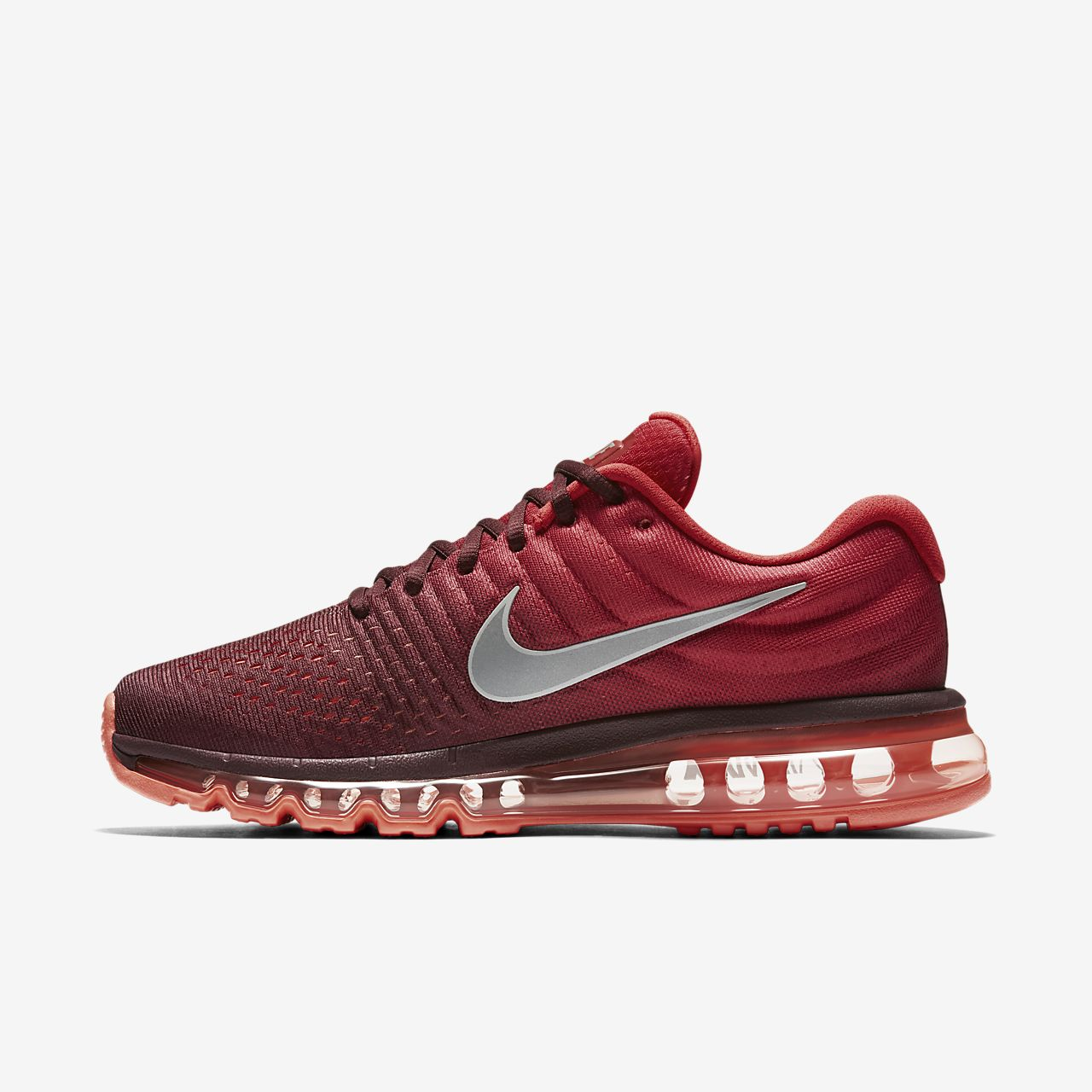 nike air max 1 mens running shoe maroon\/white sweatshirts