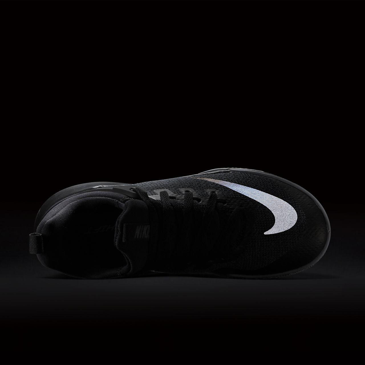 competitive price 08381 a309a scarpa da basket nike zoom shift nero/wolf grey/chrome 917731-001
