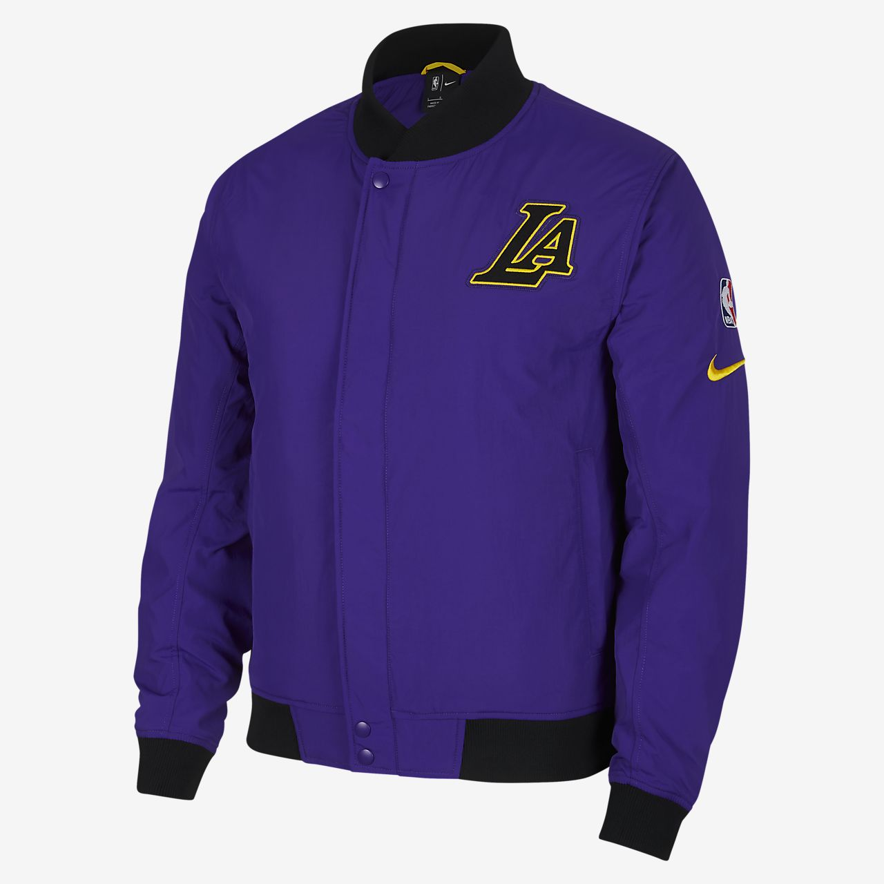 d66eec0d2 Los Angeles Lakers Nike Courtside Men's NBA Jacket. Nike.com AT
