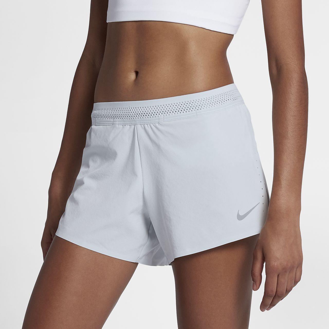 "Nike AeroSwift 4"" 女子跑步短裤"