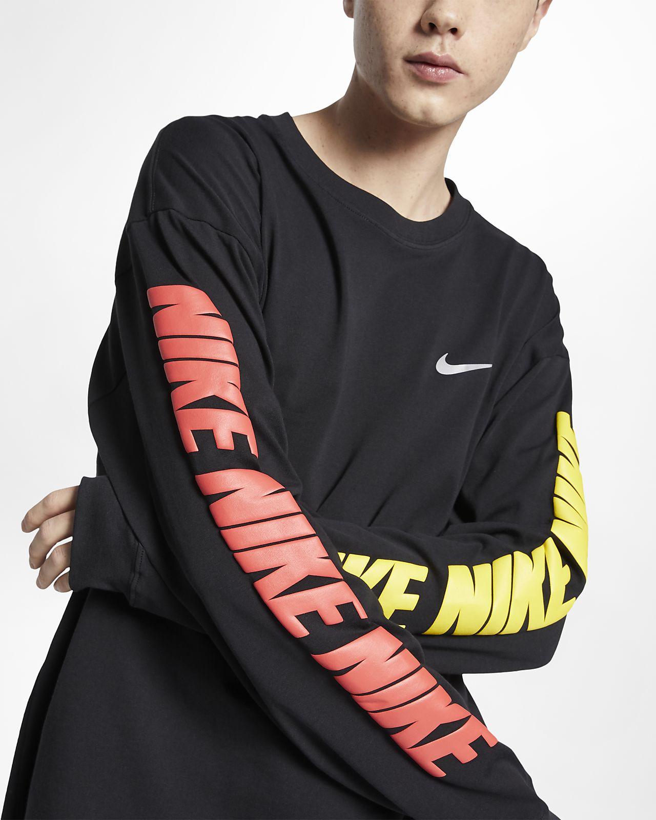336a59ab Nike Long-Sleeve T-Shirt. Nike.com ZA