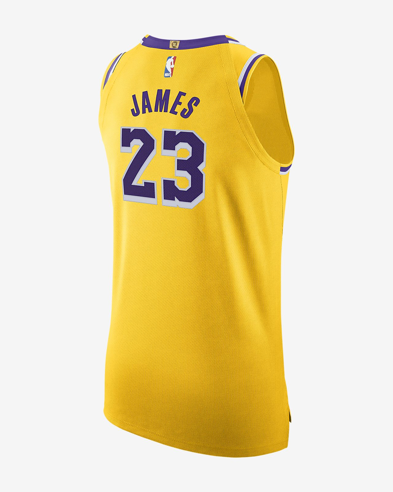 5f39f448dcf ... LeBron James Icon Edition Authentic (Los Angeles Lakers) Men s Nike NBA  Connected Jersey
