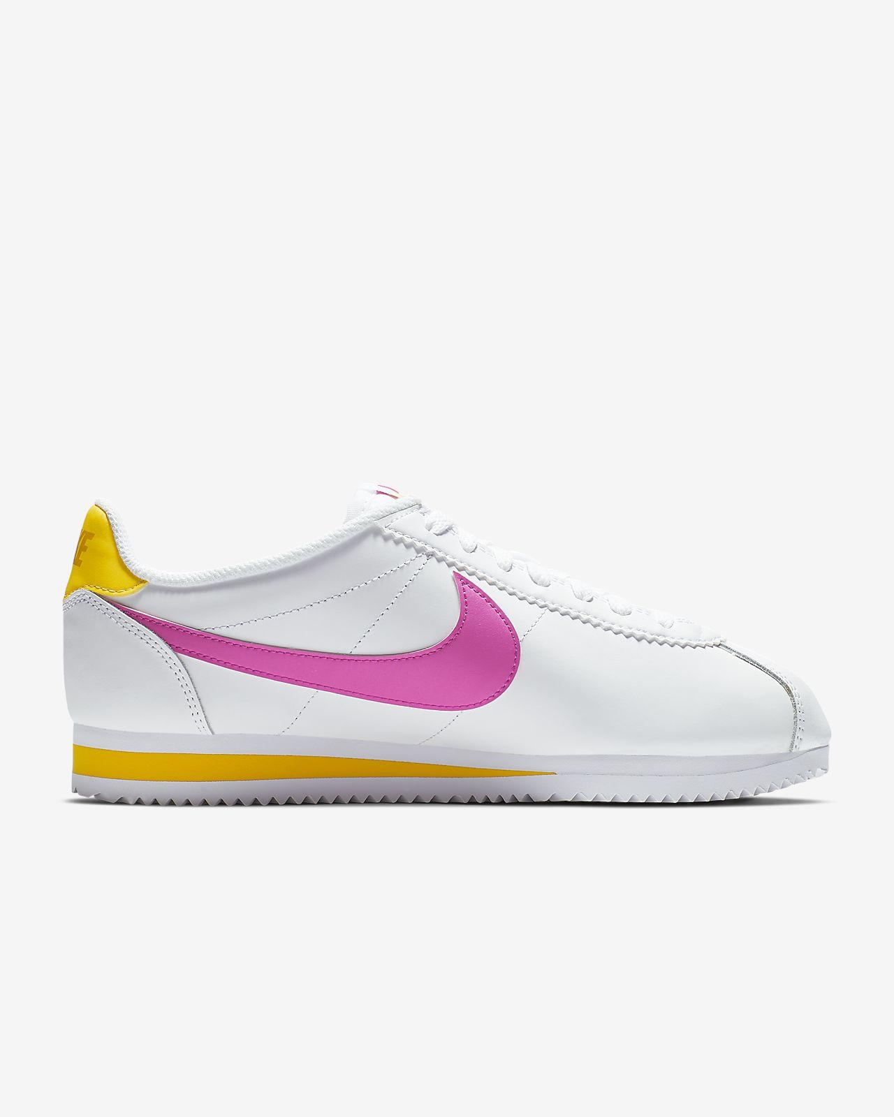 nike classic cortez leather scarpe da corsa donna