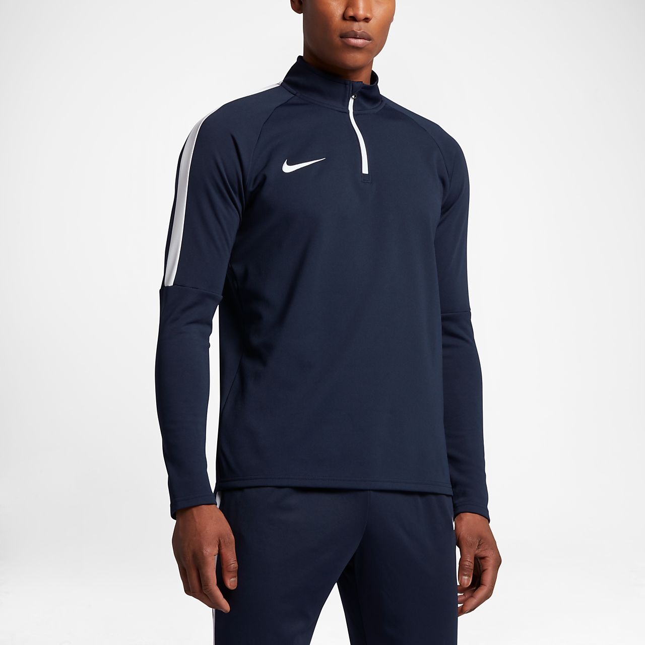 f72ab948 Nike Dri-FIT Academy Men's 1/4 Zip Football Drill Top. Nike.com GB