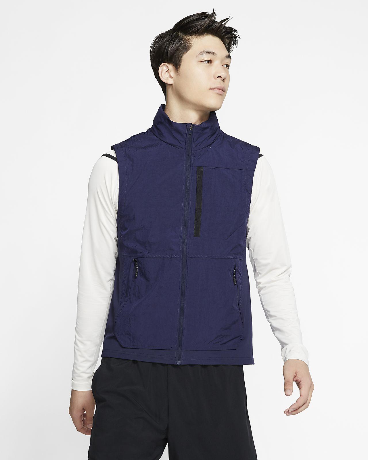 Veste de training sans manches à capuche Nike pour Homme