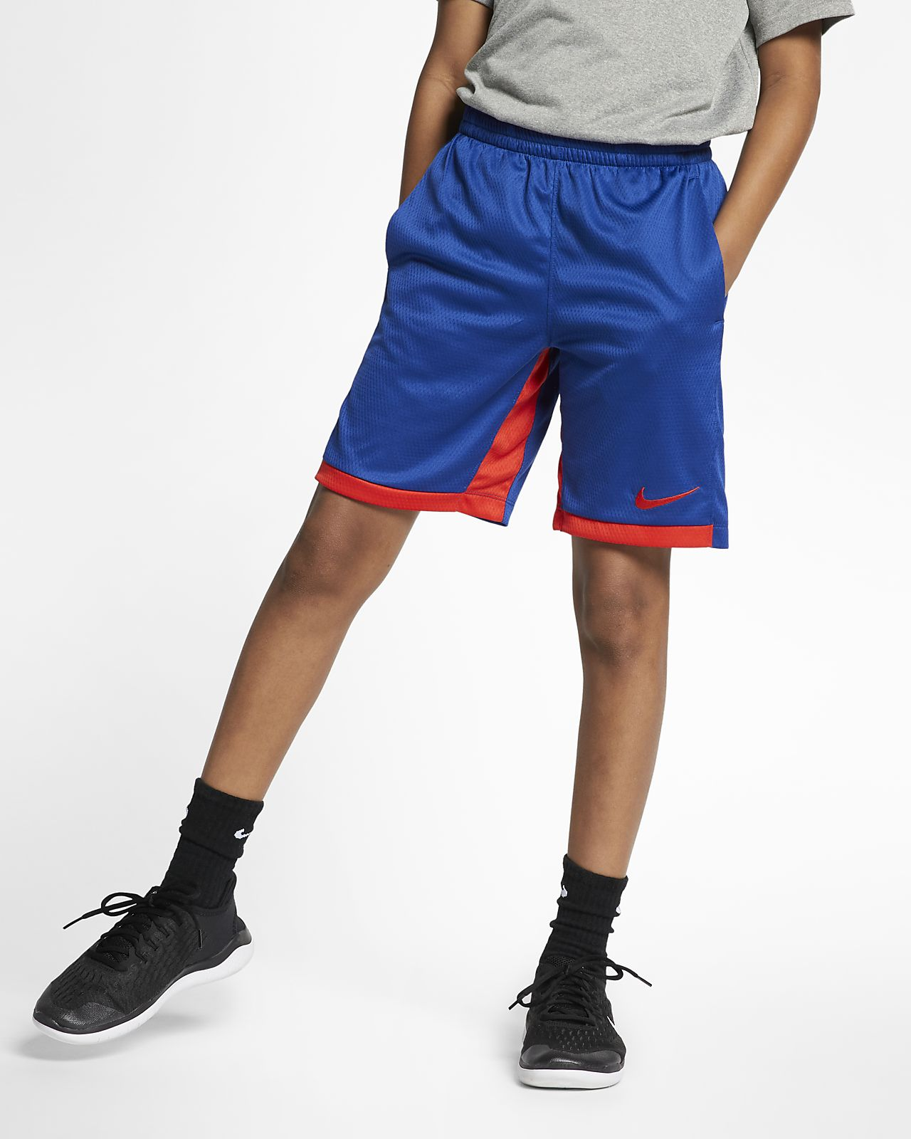 dd28b5d976a9a Nike Dri-FIT Trophy Big Kids' (Boys') Training Shorts. Nike.com