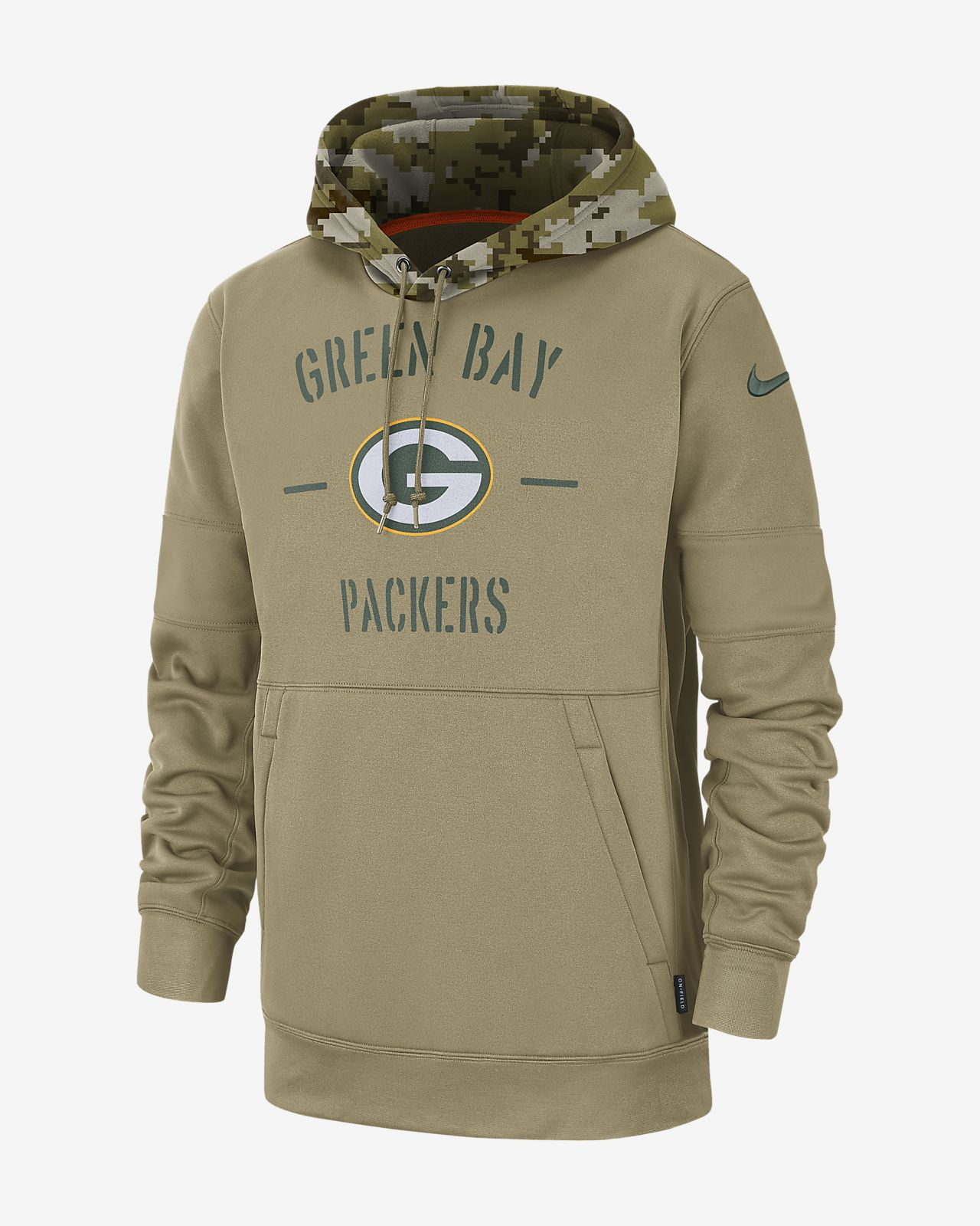Nike Therma Salute to Service (NFL Packers) Men's Hoodie