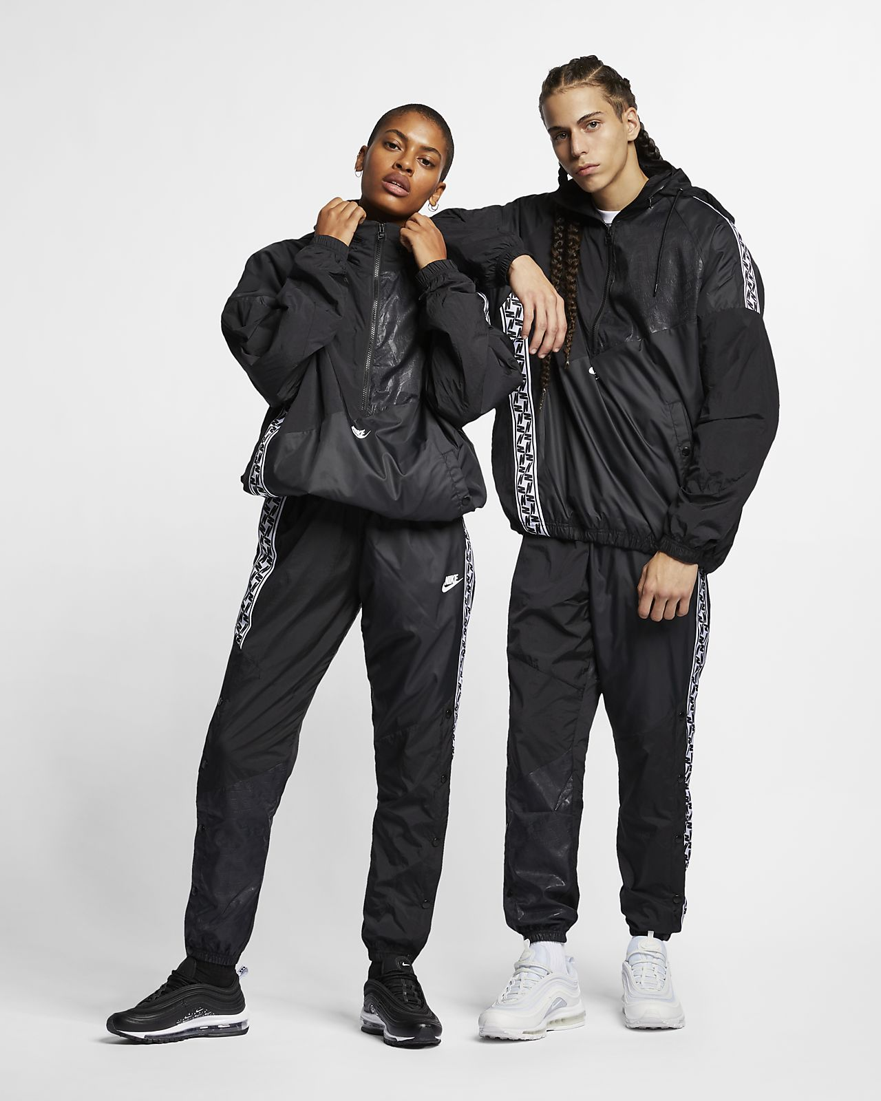 Anorak i vävt material Nike Sportswear