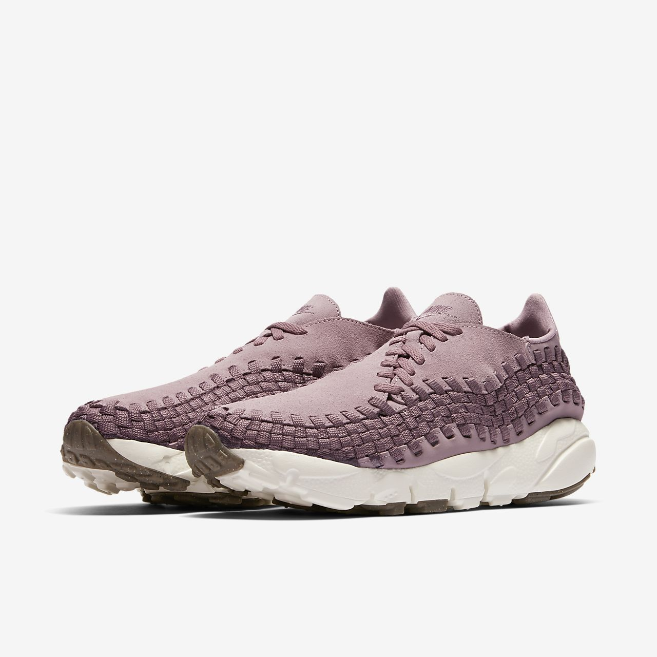 Nike Air Footscape Woven Damenschuh - Pink vGW2G8