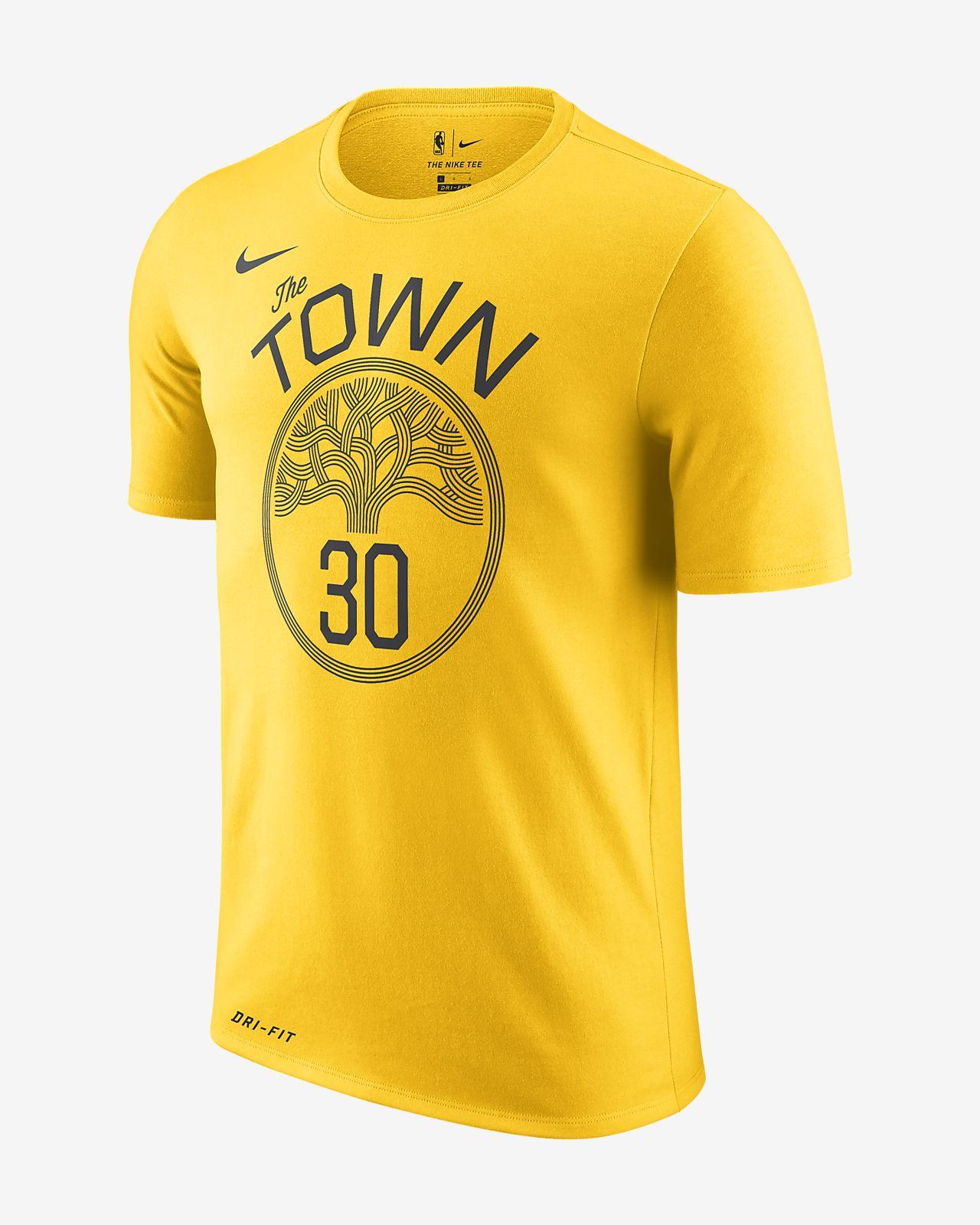 Stephen Curry Golden State Warriors City Edition Nike Dri-FIT 男款 NBA T 恤