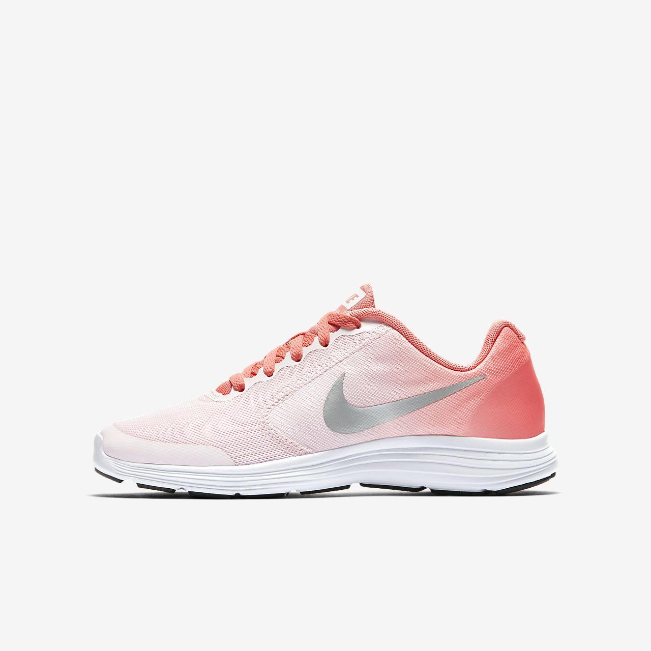 517714328 Calzado de running para niños talla grande Nike Revolution 3. Nike ...