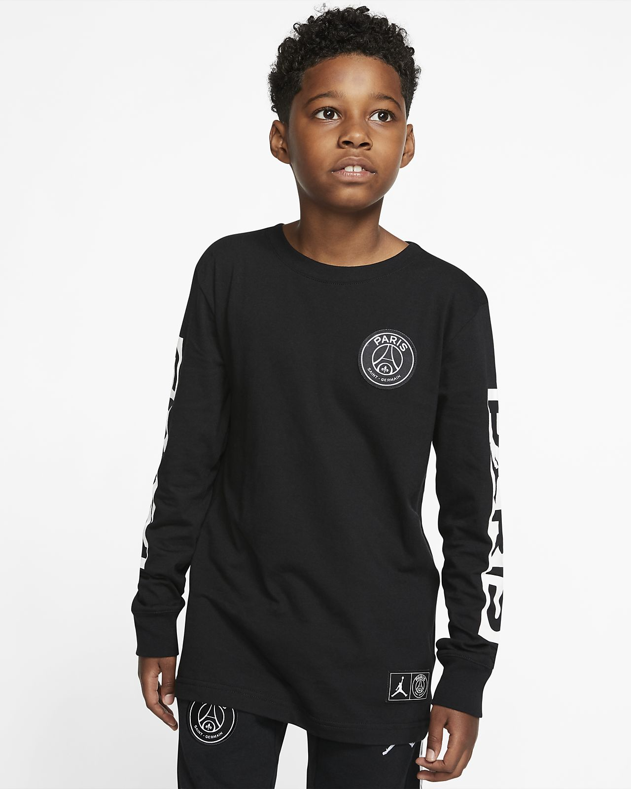 PSG Older Kids' (Boys') Long-Sleeve T-Shirt