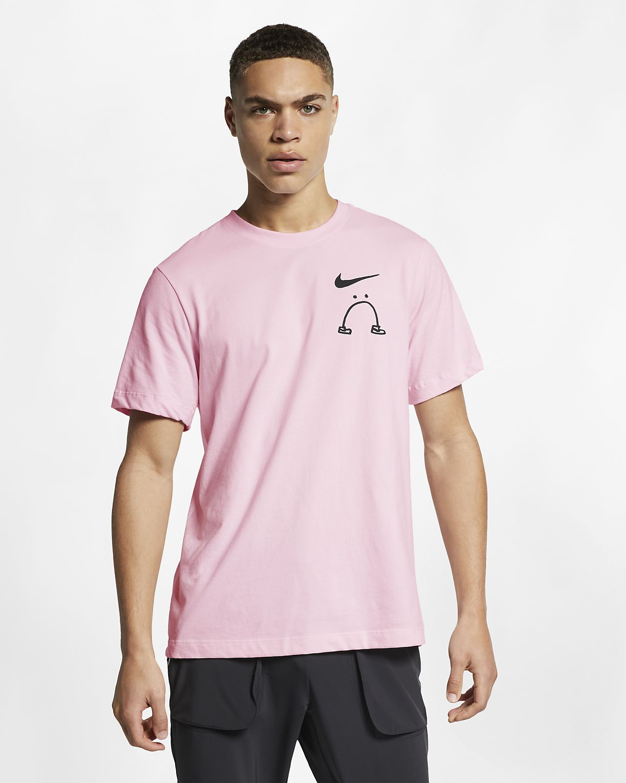 Löpar-t-shirt Nike Dri-FIT Nathan Bell för män