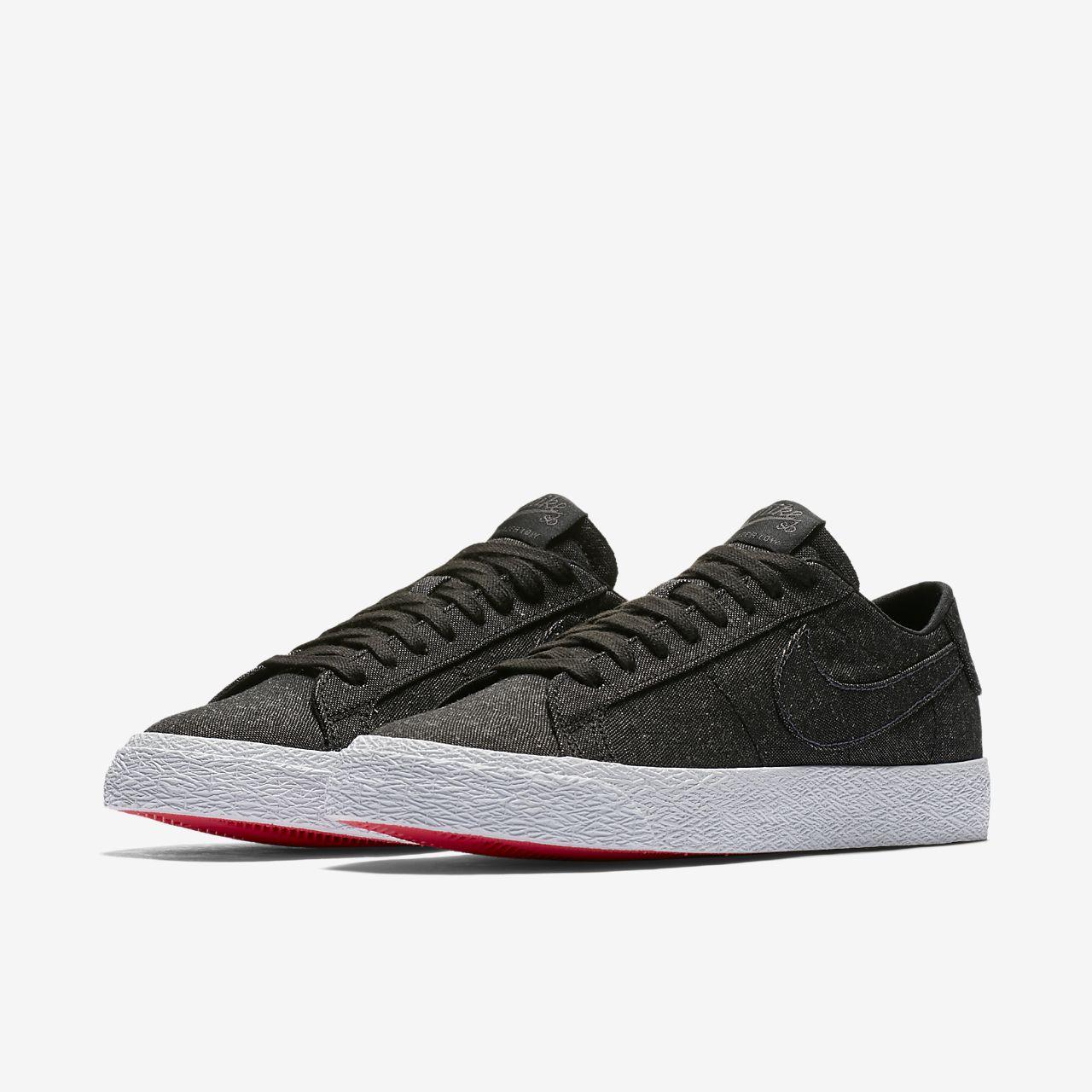 promo code a4cc0 691e5 ... Skateboardsko Nike SB Zoom Blazer Low Canvas Deconstructed för män