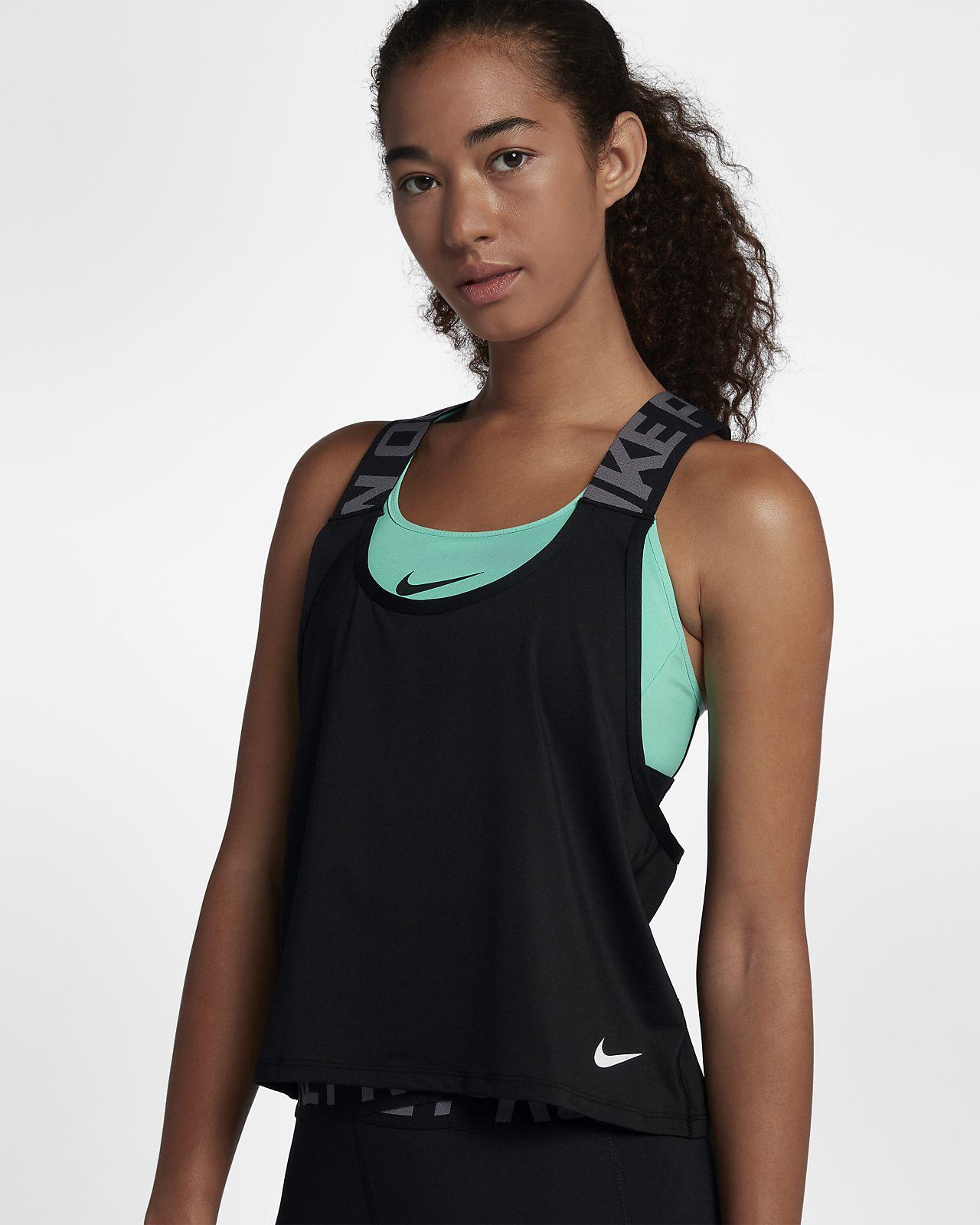 official photos 9d3eb 81358 ... Débardeur Nike Pro Intertwist pour Femme