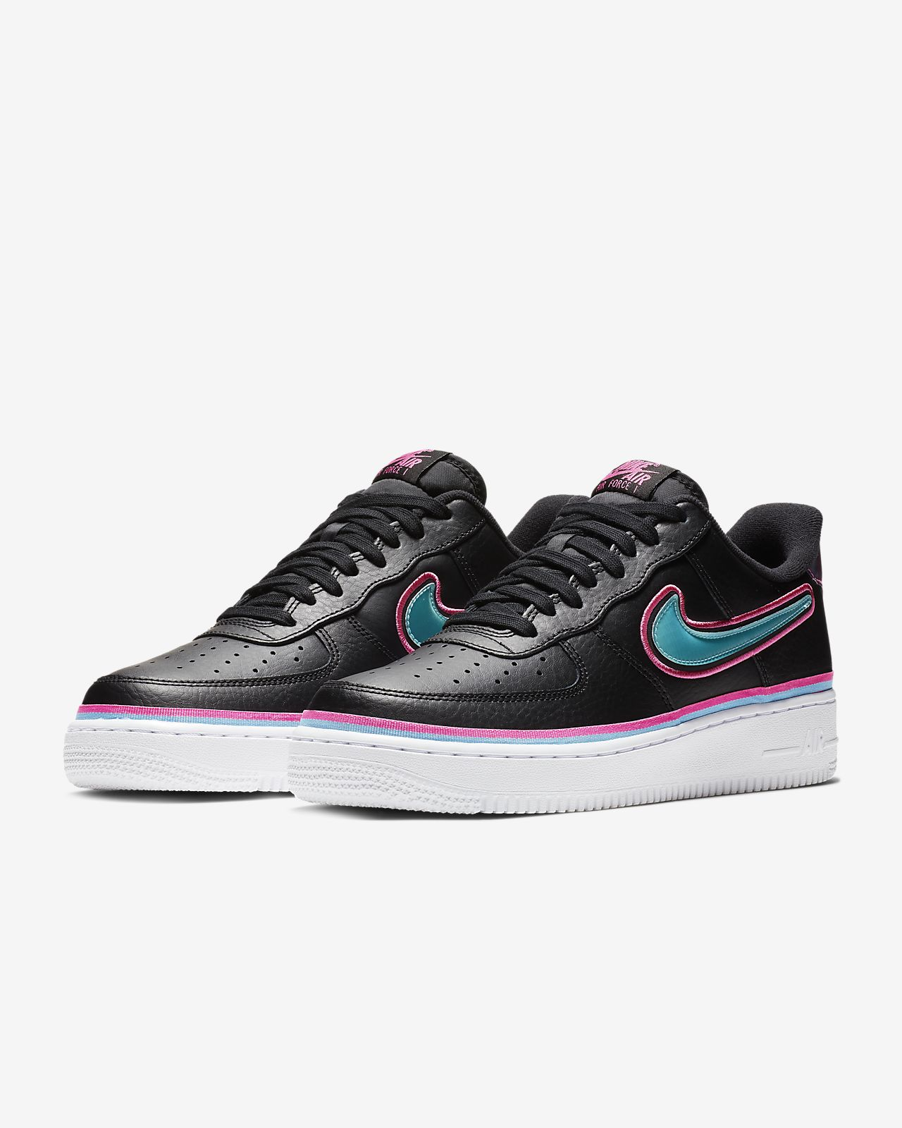 97f96e6f543 Nike Air Force 1  07 LV8 Sport NBA Shoe. Nike.com GB