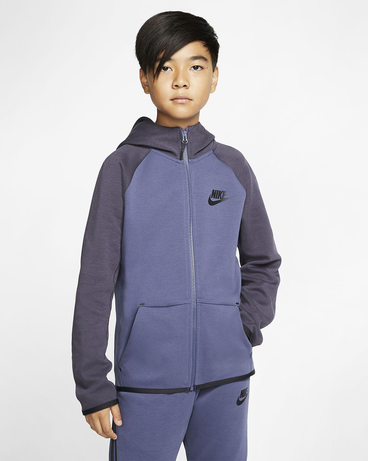 quality products newest collection look for Veste entièrement zippée Nike Sportswear Tech Fleece pour Enfant plus âgé