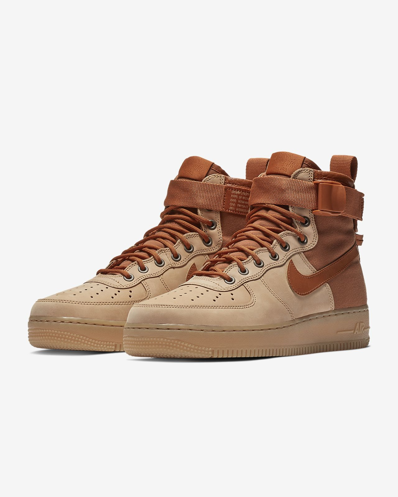 premium selection 83386 d8b7f Nike SF Air Force 1 Mid Premium Men's Shoe