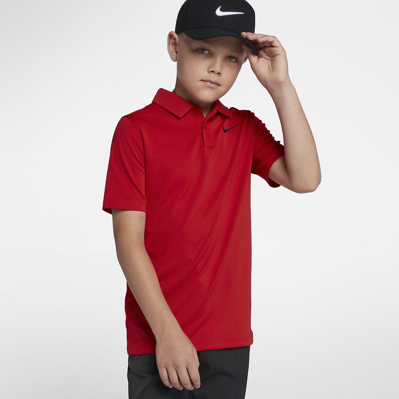 Nike Dri-FIT Victory Older Kids' (Boys') Golf Polo