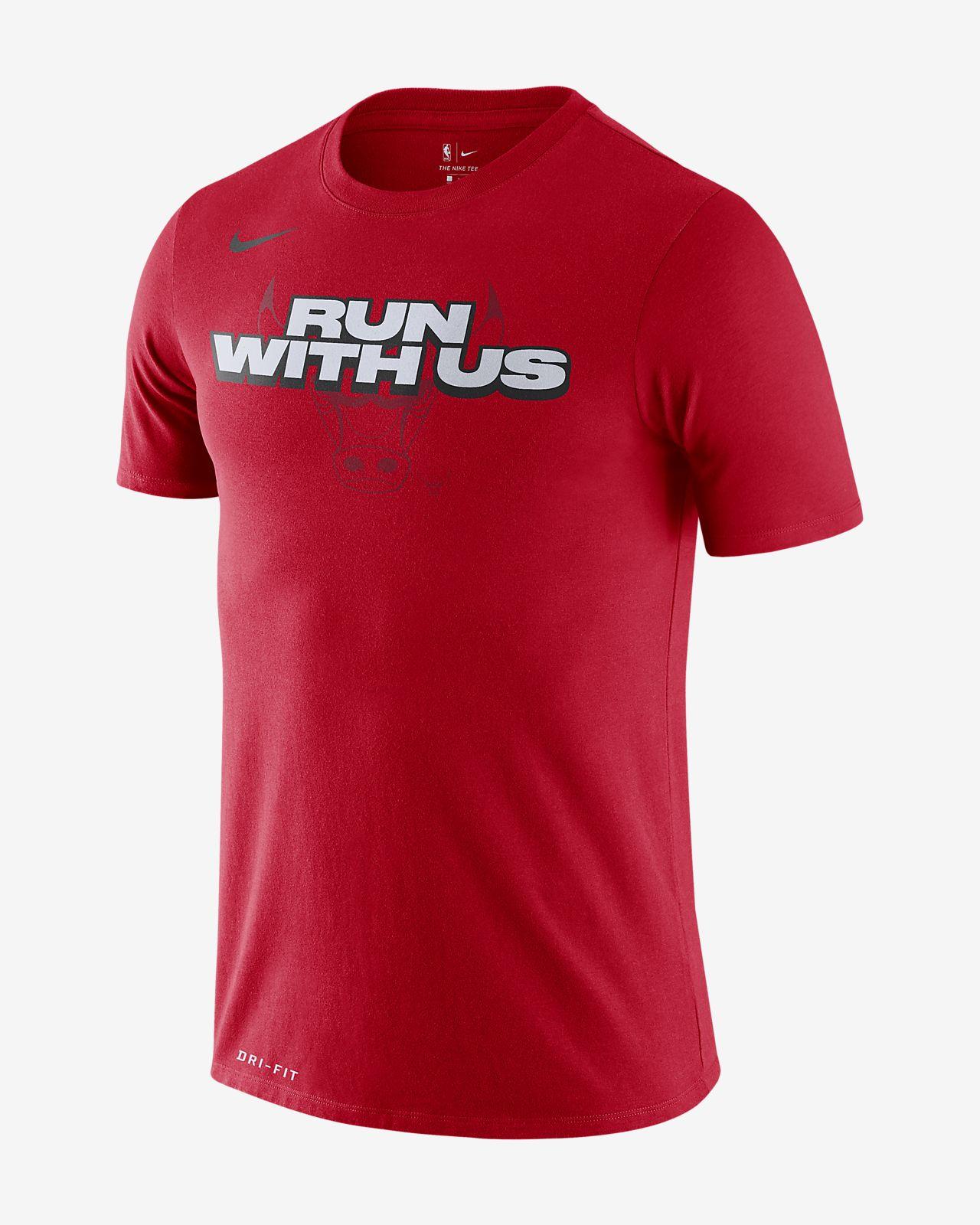 Chicago Bulls Nike Dri-FIT-NBA-T-shirt til mænd