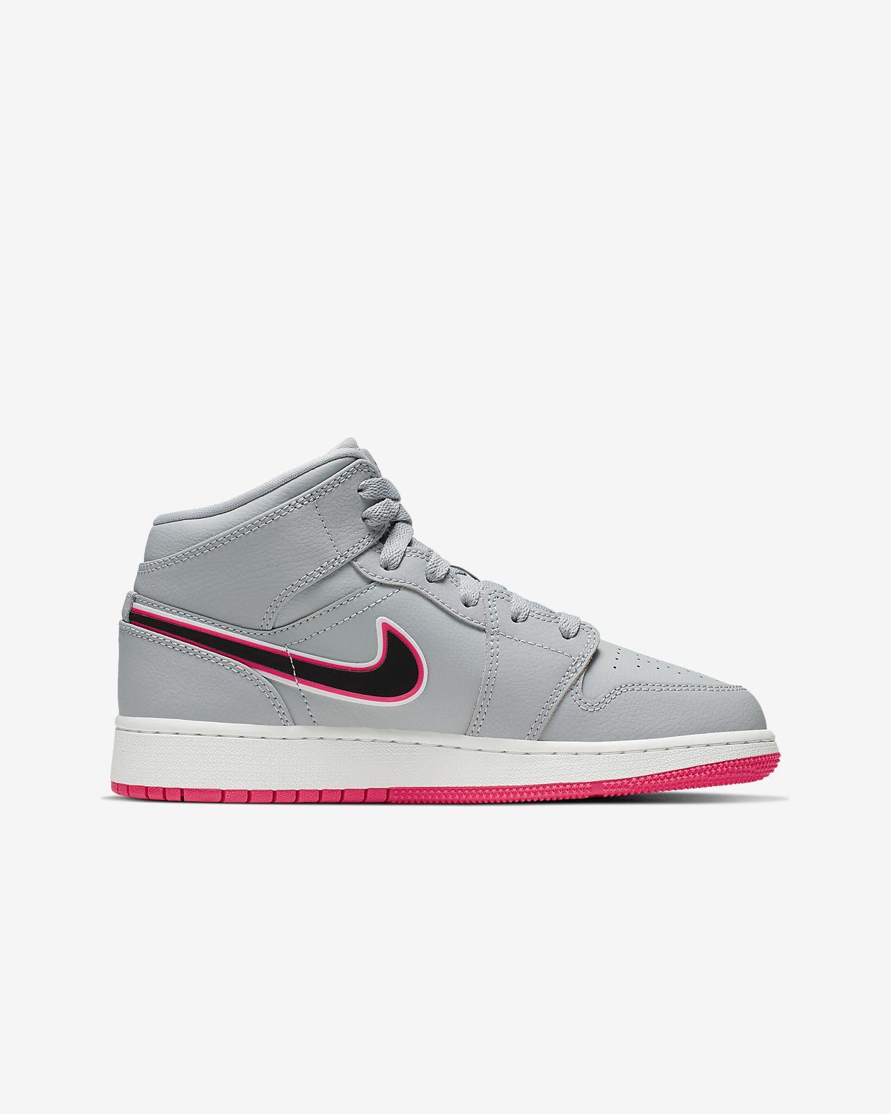 the best attitude e82cb c54ad ... Air Jordan 1 Mid Big Kids  Shoe