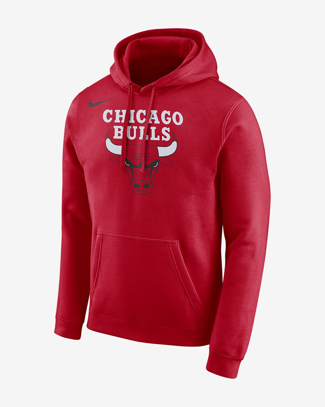 chicago bulls nike men 39 s logo nba hoodie. Black Bedroom Furniture Sets. Home Design Ideas