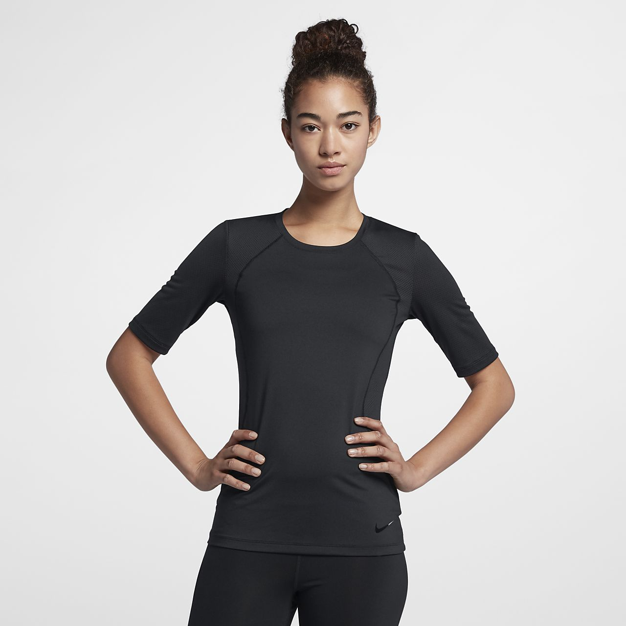 f2bb6eb8dd53 Γυναικεία κοντομάνικη μπλούζα προπόνησης Nike Pro HyperCool. Nike.com GR
